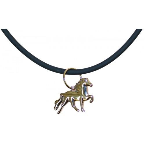 Halsband med Islandshäst